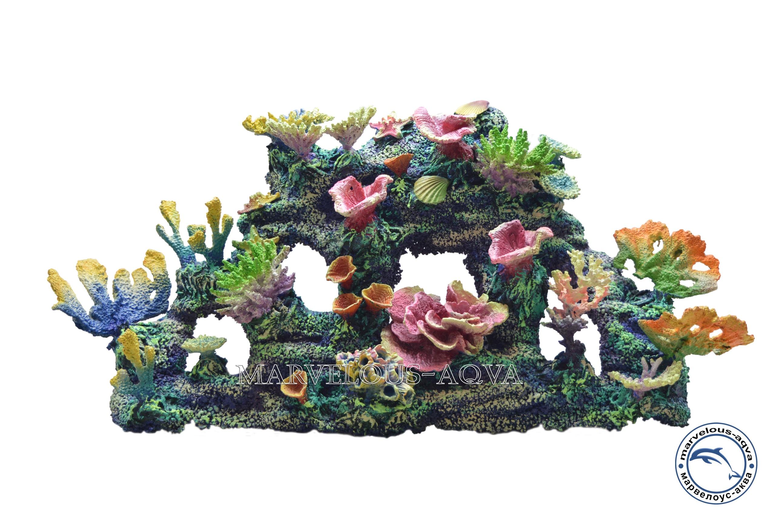 рифы и декоры