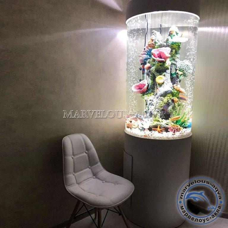 аквариум цилиндр